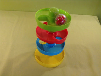 Playgo Busy Ball Tower, toboggan à balles, 4 niveaux