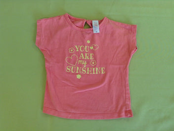 T-shirt m.c rose You are
