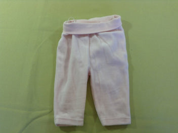 Pantalon velours ras rose