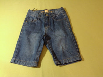 Bermuda en jean, straight fit