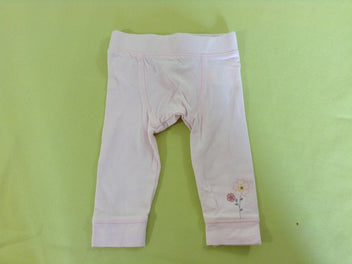 Legging jersey rose pâle
