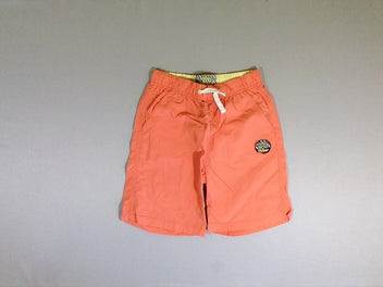 Maillot short orange tigre