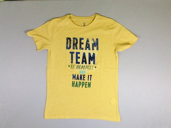 T-shirt m.c. jaune Dream team