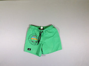 Maillot short vert tribord back to water