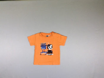 T-shirt m.c orange Boat