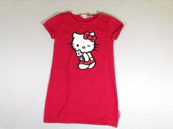 Robe m.c pull rouge Hello Kitty