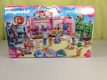 Playmobil  9078 Galerie marchande - complet