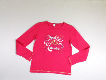 T-shirt m.l rose vif Smile