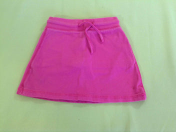 Jupe short molleton rose