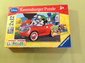 2 puzzles Mickey Mouse Clubhouse, 2x12 pièces, 3+