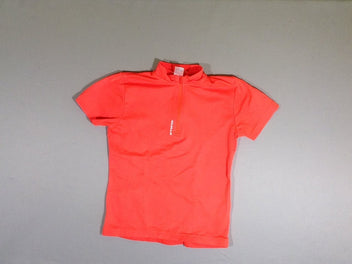 T-shirt m.c orange néon, B'twin