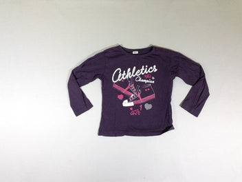 T-shirt m.l mauve Athletics