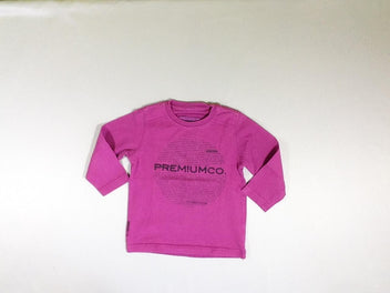 T-shirt m.l. mauve Premium.co