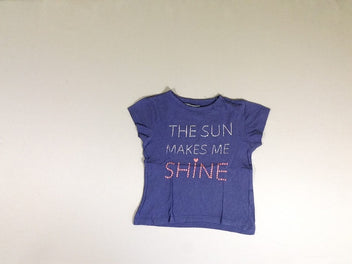 T-shirt m.c mauve the sun