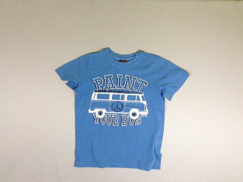 T-shirt m.c bleu bus