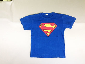 T-shirt m.c bleu Superman