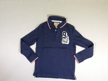 Polo m.l jersey bleu 9th
