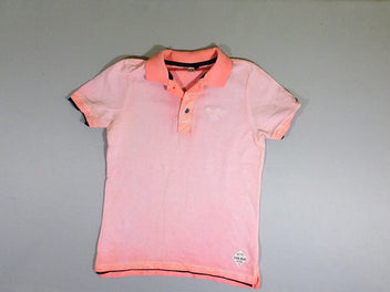 Polo m.c rose saumon dégradé