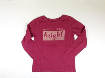 T-shirt m.l bordeaux Bright