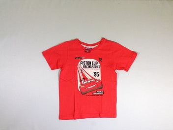 T-shirt m.c rouge Cars