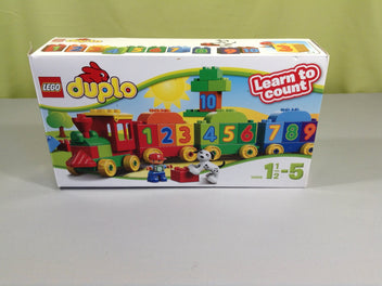 Duplo 10558 train learn to count