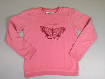 Sweat rose papillon
