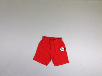 Short jersey rouge 24