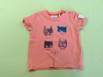 T-shirt m.c orange masques