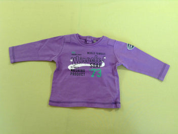 T-shirt m.l mauve Miracle !