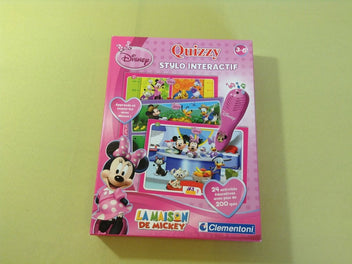 Quizzy Stylo Interactif Minnie, Clementoni, 3-6