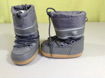 Moon boots grises, 23-25