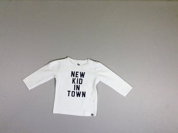 T-shirt m.l blanc New kid in town