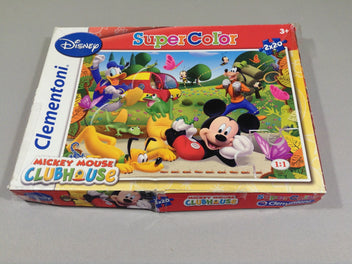 2 puzzles Mickey mouse 2x20pcs