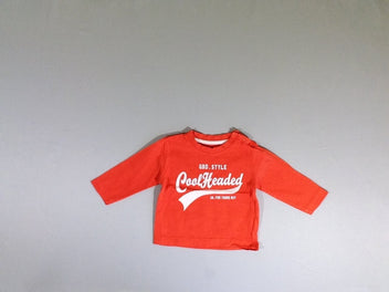 T-shirt m.l orange Cool