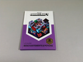 Livre MINECRAFT Le guide enchantements & potions