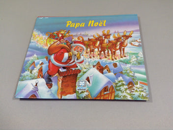 Papa noël livre pop up