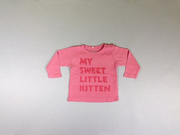 T-shirt m.l rose My sweet little kitten
