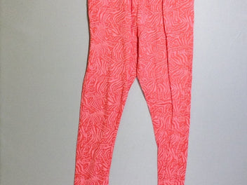 Legging orange motifs rose