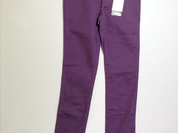 NEUF Pantalon violet stretch