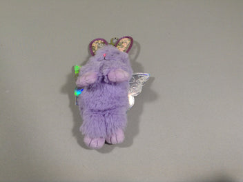 Neuf, porte clef lapin papillon Claire's