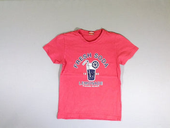 T-shirt m.c rose Fresh soda
