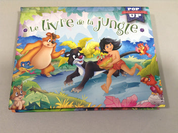 Le livre de la jungle pop up