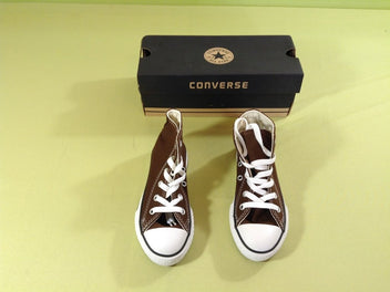 NEUF Converse All Star toile chocolat