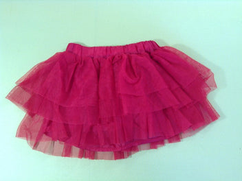 Jupe tulle rouge