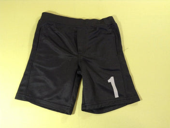 Short de gym noir « 1 »