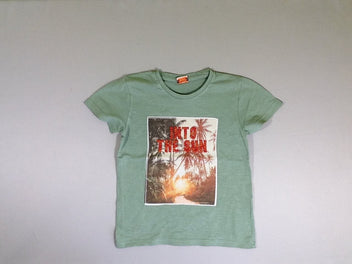 T-shirt m.c vert Into the sun