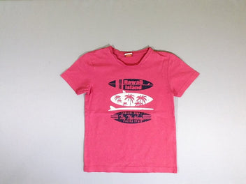 T-shirt m.c rose Hawaii