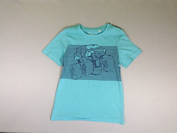T-shirt m.c. turquoise Monster Truck