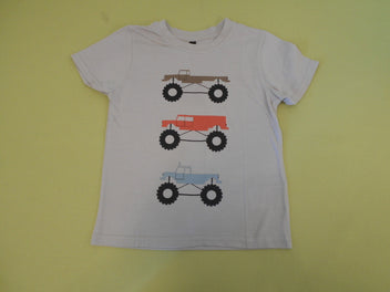 T-shirt m.c beige monster trucks