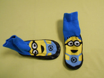 Chaussettes-chaussons Minions 24-25